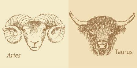 Aries & Taurus
