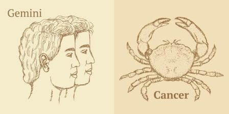 Gemini & Cancer Star Signs